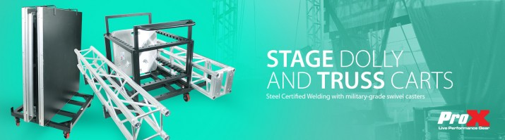 Stage Dolly and Truss Carts.