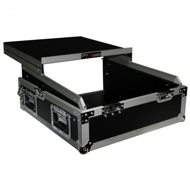 """ProX XS-19MIX8U ATA 300 Heavy Duty 19/"""" Mixer Case+8U Top Mount"""