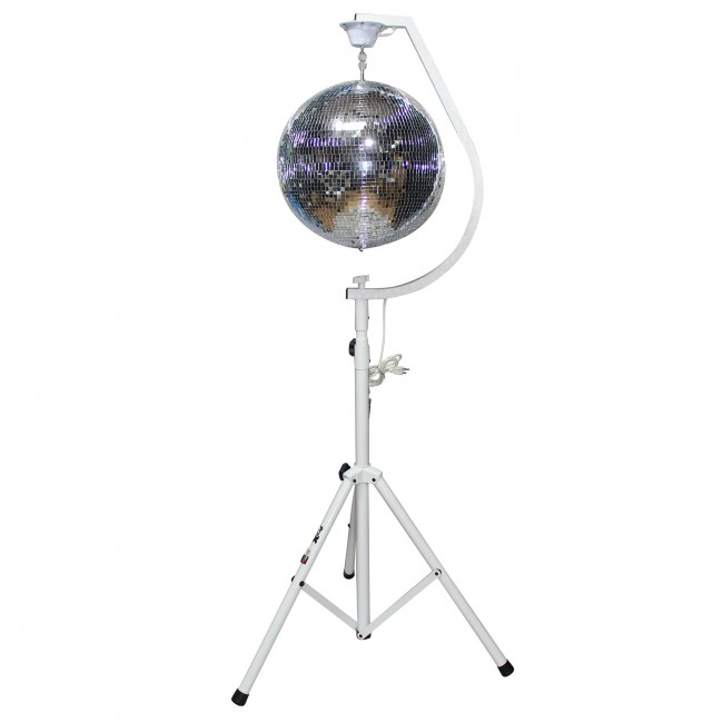 mirror ball  stands package 2 x
