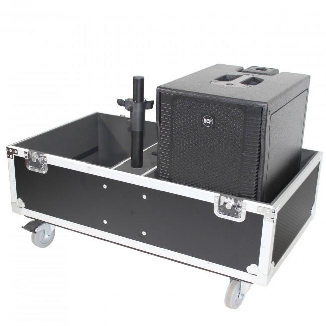 ATA Style Flight-Road Case For RCF EVOX 8 J8 JMIX8 Speaker