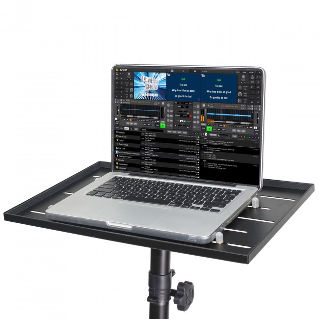 Laptop-Projector Tray for 1 3/8In Pole or Tripod Stand | ProX Live Performance Gear