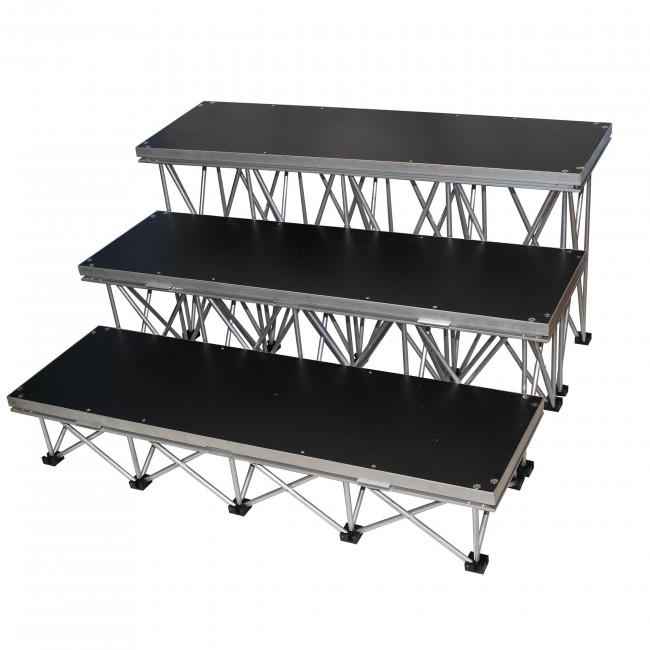 Square Deck 4x4FT Stage Platform - Stage Wood Tuffcoat Deck