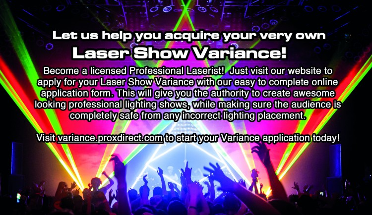 Laser Variance | ProX Live Performance Gear